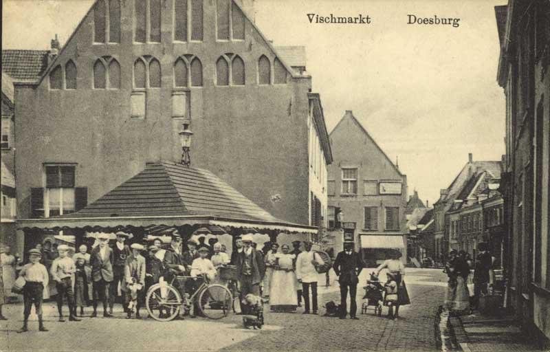 Doesburg Vischmarkt 1900